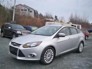 2012 Ford Focus Titanium NEW MVI! LOW MILEAGE LOADED