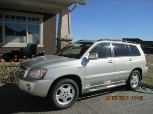 2004 Toyota Highlander Limited Edition SUV, Crossover