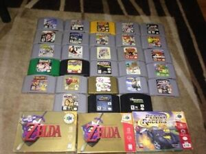 Nintendo 64 N64 Games Controller, accessories Ect