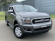 2017 Ford Ranger PX MkII XLS Double Cab Grey 6 Speed Sports Automatic Utility Blacktown Blacktown Area Preview