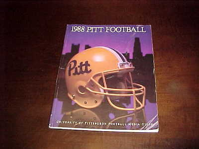 1988 Pitt Panthers Football Media Guide