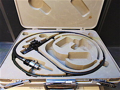 Olympus Cf-lb3w Colonoscope Endoscope In Original Case-works Good-s3433