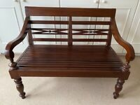 Solid Teak Bench by Lombok