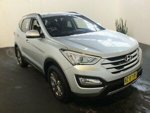2014 Hyundai Santa Fe DM Active CRDi (4x4) Silver 6 Speed Automatic Wagon Clemton Park Canterbury Area Preview
