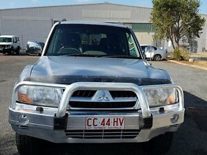 2004 Mitsubishi Pajero NP Exceed Silver 4 Speed Automatic Wagon Winnellie Darwin City Preview