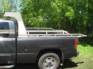 Aluminum Back Rack  8 ft.