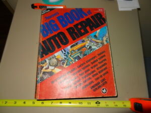 AUTO REPAIR , PETERSONS BIG BOOK 1977 ISSUE