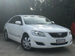 2007 Toyota Aurion GSV40R AT-X White 6 Speed Sports Automatic Sedan