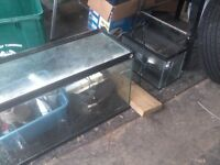 30 & 12 gallon fish tank/terrarium with accessories