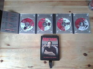Sopranos Complete Box Seasons 1,2,3 and 4