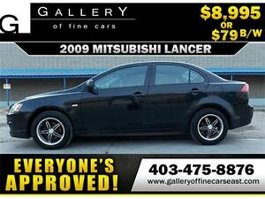 2009 Mitsubishi Lancer $79 BI-WEEKLY APPLY NOW DRIVE NOW