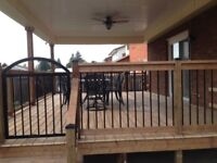 QUALITY BUILT FENCES, DECKS AND OTHER OUTDOOR STRUCTURES