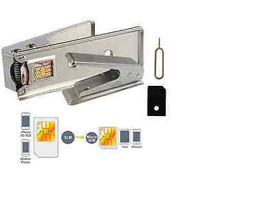 Micro Mini iPhone iPad 4G 4S Mobile Phone Sim Card Cutter + ADAPTOR