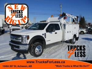 2018 Ford F-550 XLT 4X4, SERVICE TRUCK