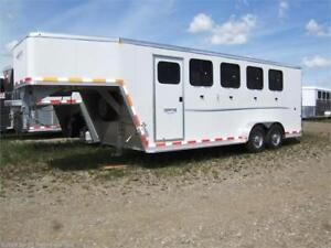 ON SALE!! 2017 Frontier Strider 4 Horse Angle Haul