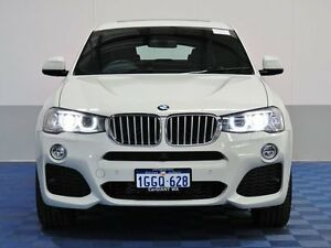 2016 BMW X4 F26 MY15 xDrive 35I White 8 Speed Automatic Coupe Jandakot Cockburn Area Preview