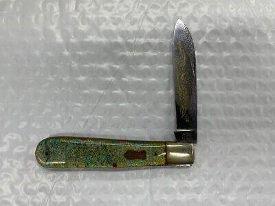 Frank Buster Fight'n Rooster Single Blade Pre 1982 Solingen Knife