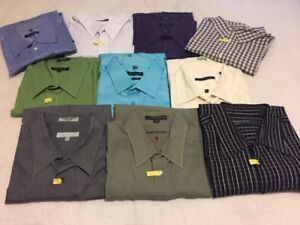 Men's Long Sleeve Dress Shirts (XXL): $12 each OR all 1 for $100