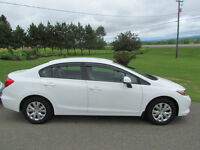 2012 Honda Civic LX: ONLY 49000 KM'S! NO ACCIDENTS! A/C! CLEAN!
