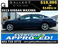2013 Nissan Maxima 3.5 SV $149 bi-weekly APPLY NOW DRIVE NOW