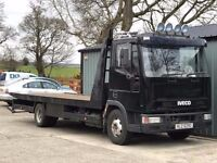 ford iveco 7.5 tonne recovery lorry 2001 125000kms