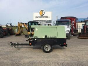2013 Sullair 375H Towable Air Compressor for sale! 2,181 Hours!