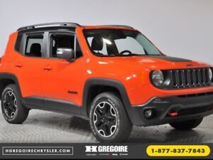 2016 Jeep Renegade TRAILHAWK 4X4 GPS Cuir Bluetooth SkyView Dema