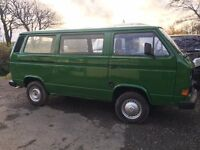 Beautiful VW T25 Campervan, water cooled, 1.9 Petrol. Fully restored Body and respray.