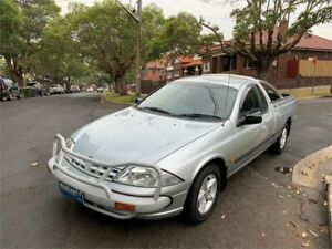 2001 Ford Falcon AUII XL Silver 4 Speed Automatic Utility Croydon Burwood Area Preview