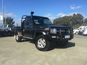 2014 Toyota Landcruiser VDJ79R MY12 Update GXL (4x4) Grey 5 Speed Manual Cab Chassis Beckenham Gosnells Area Preview