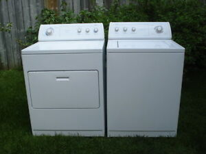 Whirlpool washer and dryer set- free delivery