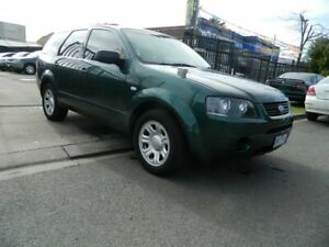 2006 Ford Territory SY SR (RWD) Green 4 Speed Auto Seq Sportshift Wagon Williamstown North Hobsons Bay Area Preview