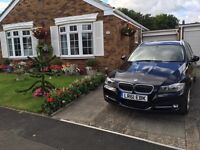 BMW 3 Series Exclusive Touring 2.0 320D Black