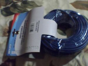 75 ft Ethernet RJ45 Cat5e Blue patch Cable Brand new $20.00  100