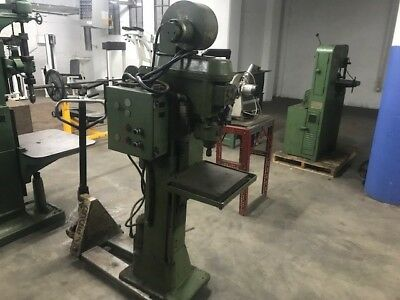 Grob Industrial Drill Press W Snow Tapping Head
