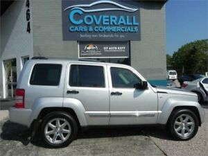 2010 Jeep Cherokee KK Limited (4x4) Silver 4 Speed Automatic Wagon Earlville Cairns City Preview