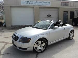 2001 Audi TT CONVERTIBLE-AWD-225HP-LEATHER-FULLY LOADED-ALLOYS