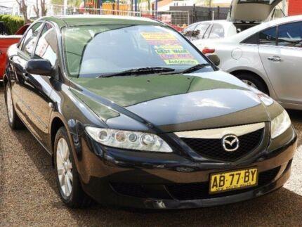 2004 Mazda 6 GG1031 MY04 Limited Black 4 Speed Sports Automatic Sedan