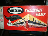 VERY RARE OLD LOBLAWS BOARD GAME