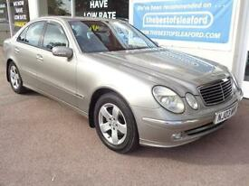 Mercedes-Benz E220 2.1TD auto 2003MY CDI Avantgarde Full S/H P/X Swap