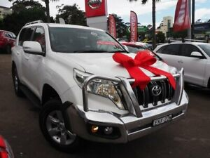 2017 Toyota Landcruiser Prado GDJ150R GXL White 6 Speed Sports Automatic Wagon Brookvale Manly Area Preview