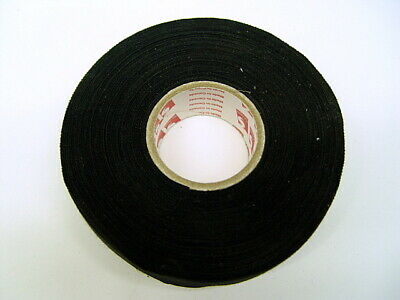 Scapa 1 X 100 Ft Black Cloth Tape 164014