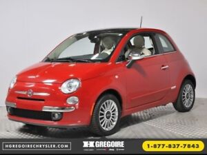 2012 FIAT 500 Lounge AC CRUISE BLUETOOTH SIEGES CHAUFFANTS
