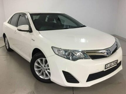 2012 Toyota Camry AVV50R Hybrid H White 1 Speed Constant Variable Sedan Hybrid Chatswood Willoughby Area Preview