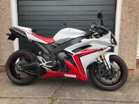 YAMAHA R1, 2007, 4C8, White & Red, 32.100 Miles £4695
