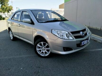 2013 Geely MK MK GL Silver 5 Speed Manual Sedan Malaga Swan Area Preview