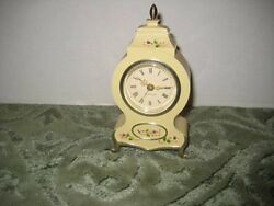 Vintage Westclox Victorian Wind-Up Alarm Clock Model 12090