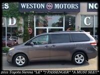2011 Toyota Sienna *LE*7PASS*DVD*CAPTAIN CHAIRS*