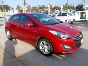 2014 Hyundai i30 GD2 MY14 Trophy Red 6 Speed Sports Automatic Hatchback Buderim Maroochydore Area Preview