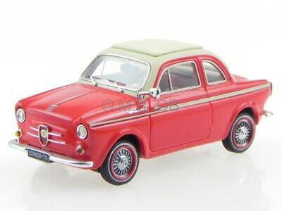 Fiat 500 NSU Weinsberg 1961 rot Modellauto pr0021 PremiumX 1:43